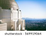 scenic view of downtown los... | Shutterstock . vector #569919064