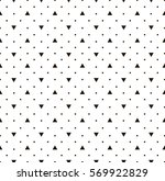 dot and triangle pattern | Shutterstock .eps vector #569922829
