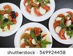 Delicious Caprese Salad With...