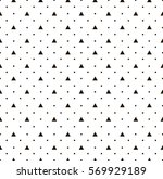 dot and triangle pattern. | Shutterstock .eps vector #569929189