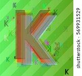 k alphabet vector art | Shutterstock .eps vector #569931529