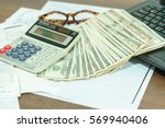 finance concept   the united...   Shutterstock . vector #569940406