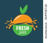 juice splash vector sign | Shutterstock .eps vector #569958718