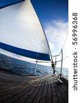 sailing on the baltic sea sea