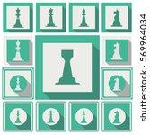 chess sign | Shutterstock .eps vector #569964034