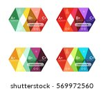 vector arrow option infographic ... | Shutterstock .eps vector #569972560