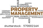 a word cloud of property... | Shutterstock .eps vector #570002164