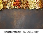 Assortment Of Nuts Dried Fruits ...