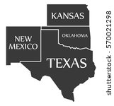 new mexico   kansas   oklahoma  ...   Shutterstock .eps vector #570021298