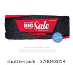 sale banner template design | Shutterstock .eps vector #570043054