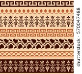ancient greek pattern  ... | Shutterstock .eps vector #570047488