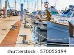 Boats Anchoring At The Marina...