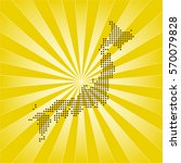 map of japan | Shutterstock .eps vector #570079828