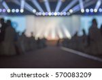 blurred background of event... | Shutterstock . vector #570083209