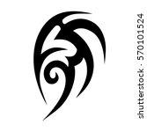 tribal tattoos design element....   Shutterstock .eps vector #570101524