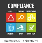 compliance | Shutterstock .eps vector #570128974