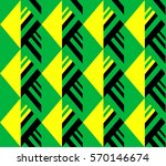 abstract tropical pattern... | Shutterstock .eps vector #570146674