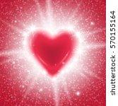 happy valentines day design... | Shutterstock .eps vector #570155164
