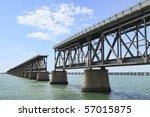 The Old Railroad Bridge On The...