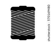monochrome silhouette wiht... | Shutterstock .eps vector #570169480
