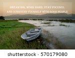 inspirational motivating quote... | Shutterstock . vector #570179080