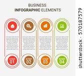 modern infographic options... | Shutterstock .eps vector #570187579