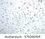 water drop pattern on glass | Shutterstock . vector #570200509
