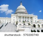 united states capitol hill... | Shutterstock . vector #570200740