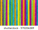 colorful wooden background | Shutterstock . vector #570206389
