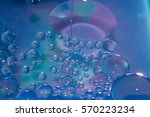 misted glass  blue and purple... | Shutterstock . vector #570223234