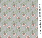 seamless floral pattern in the... | Shutterstock .eps vector #570223810