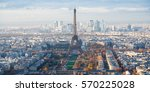 travel to france   above view... | Shutterstock . vector #570225028