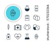 vector illustration of 12... | Shutterstock .eps vector #570232366
