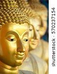 Buddha Face Peaceful Eye And...
