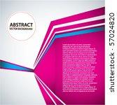 vector abstract trendy... | Shutterstock .eps vector #57024820