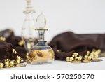 arabian parfum bottles and... | Shutterstock . vector #570250570