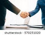 business concept  businessman... | Shutterstock . vector #570251020