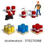 isometric illustration of... | Shutterstock .eps vector #570270388