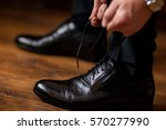 men's shoes | Shutterstock . vector #570277990