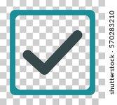 checkbox icon. vector... | Shutterstock .eps vector #570283210