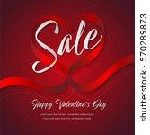 happy valentines day...   Shutterstock .eps vector #570289873
