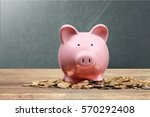 Small photo of Piggy bank.