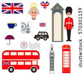 england vector traditional... | Shutterstock .eps vector #570301159