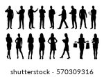 business people  large set of... | Shutterstock .eps vector #570309316