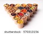 dried fruits  | Shutterstock . vector #570313156