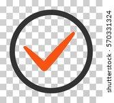 ok icon. vector illustration...