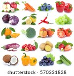 fruits and vegetables... | Shutterstock . vector #570331828