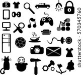 web shop. icons set. logos or
