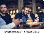 craft beer booze brew alcohol... | Shutterstock . vector #570352519