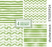 set of grunge seamless pattern... | Shutterstock .eps vector #570355924